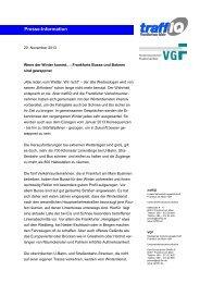 Diese Presse-Information zum Herunterladen (PDF, 0.1 MB) - traffiQ