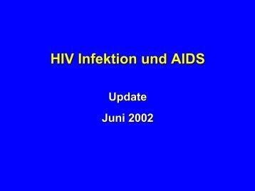 Update HIV: Juni 2002 - Infekt.ch