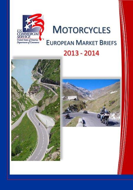 """Motorcycles: European Market Briefs 2013-2014"". - Export.gov"
