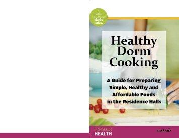 Healthy Dorm Cookbook