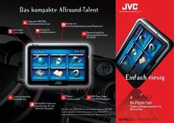 Einfach riesig KV-PX701/501 - JVC - JVC Europe