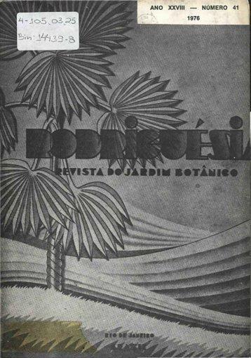 41 - Rodriguésia - Jardim Botânico do Rio de Janeiro