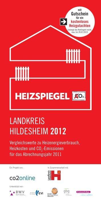 LANDKREIS HILDESHEIM 2012 - Heizspiegel