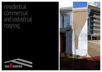 residential commercial and industrial roofing - Red 8 Roofing