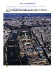 S4 – Paris Métropole mondiale