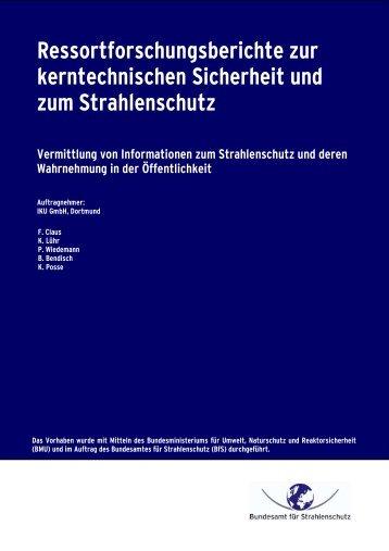 3611S70005 - DORIS - Bundesamt für Strahlenschutz