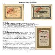 Auktion 55 Berg-, Straßen- und Eisenbahnen 113 LOS NR. 236 LOS ...