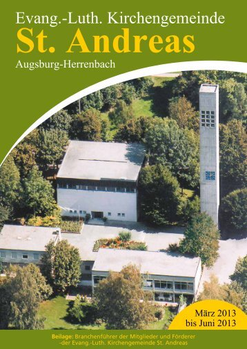 Evang.-Luth. Kirchengemeinde St. Andreas Augsburg