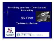 Free living amoebae Detection and Free-living amoebae ...