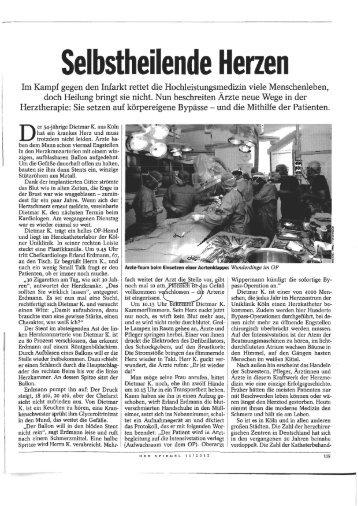 körpereigene Bypässe - Strophantus.de