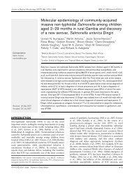 Molecular epidemiology of community-acquired invasive non ...