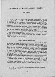 De omgang van Nyerere met het verleden - Groniek
