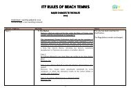 itf rules of beach tennis rules of beach tennis rules of beach tennis