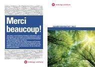 Jahresbericht 2012 - Krebsliga Schweiz