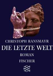 Ransmyr Christoph (Die letzte Welt) - Mi-aleman.com