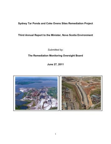 Sydney Tar Ponds and Coke Ovens Sites Remediation Project Third ...