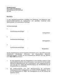 Vergabekammer des Landes Brandenburg beim Ministerium für ...