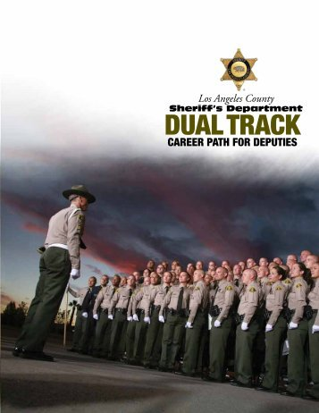 Dual Track Career Path - Los Angeles County