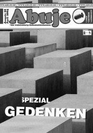 Ausgabe 22 - Abuje