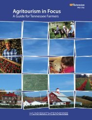 A Guide for Tennessee Farmers - UT Extension - The University of ...
