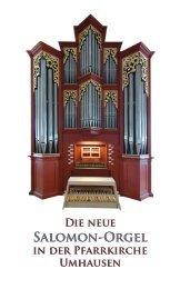 Die neue Orgel 2009 - Umhausen