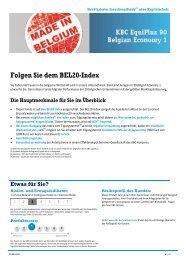 Folgen Sie dem BEL20-Index