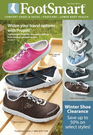 Winter Shoe Clearance Save up to 50% on select styles!