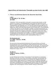 Liste - Mediaculture online