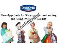 New approach for shopper understanding