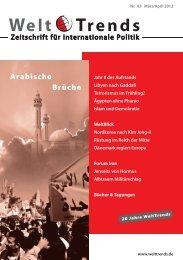 Volker Perthes Jahr II des Aufstands PDF - WeltTrends
