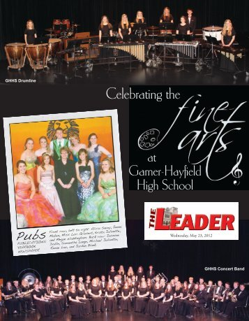 Concert Choir - Garner Leader