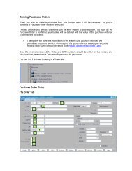 Purchase Order Entry - Staffcentral