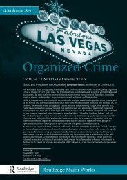 Organized Crime - Routledge