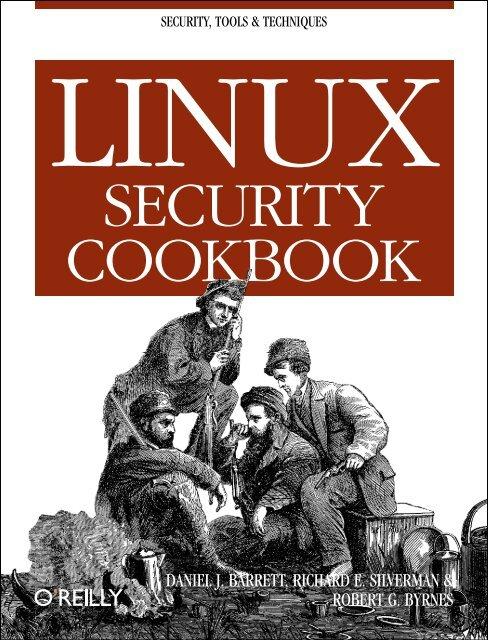 Security Cookbook Oreilly Media