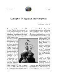 Concept of Sri Jagannath and Patitapaban