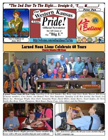 Western Kansas - Lions District 17-L