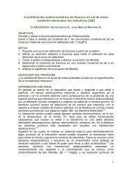 Cuantificación potenciométrica de fluoruro en sal de mesa ... - DePa