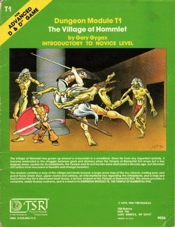 T1 - The Village of Hommlet - Free