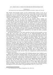 3. Der junge Luther und der Beginn der Reformation