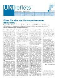 29. September 2005 - Université de Fribourg