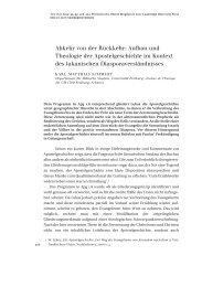 ckkehr: Aufbau und Theologie der Apostelgeschichte im Kontext des ...