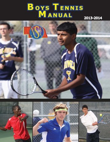 Boys Tennis Manual - Nebraska School Activities Association