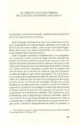 7. Gli obiettivi di lungo periodo della politica ... - Unitus DSpace