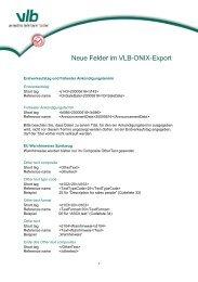 Detailierte Informationen - VLB