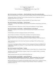 Vol. 33 (Suppl) No. 5 September 2004 Proceedings of the National ...