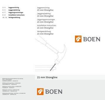 21 mm Strongline - Boen