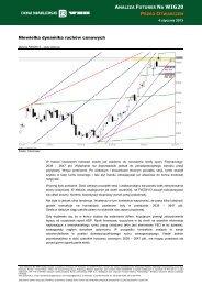 Niewielka dynamika ruchów cenowych - Inwestycje
