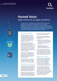 Hosted Voice - O2 Your Family