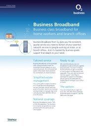 Business Broadband - O2 Your Family