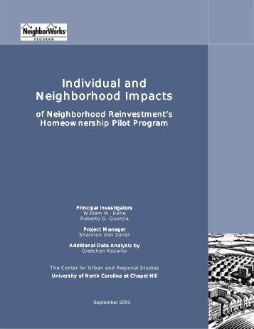Individual and Neighborhood Impacts of Neighborhood ...